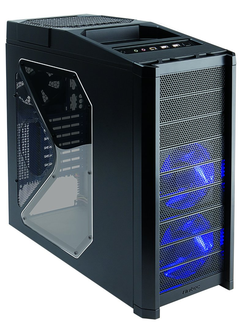 Antec Nine Hundred Black Steel ATX Mid Tower Computer Case