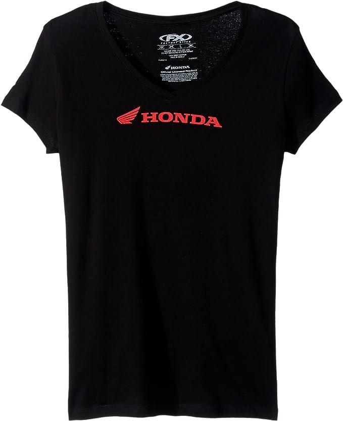 Factory Effex Womens Honda Ride Long Sleeve Shirt Black Medium
