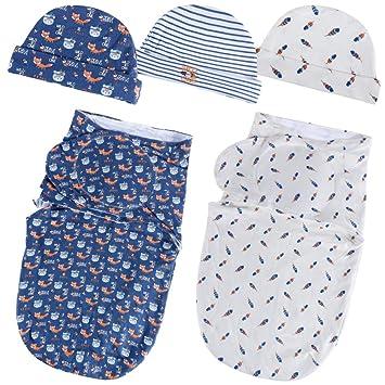 Lictin Baby Swaddle Blankets - Swaddle Blanket 0-3 Months Adjustable Swaddle  Blanket 3- 7e2f3222c
