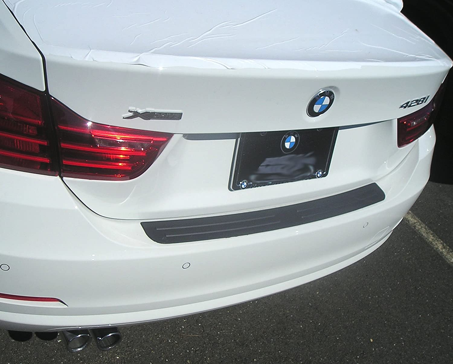 Rear Bumper Protector Fits 2014-2018 4 Series Coupe BMW