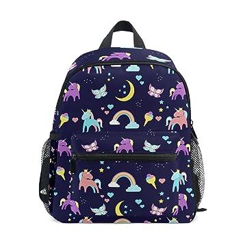 COOSUN Kinder unicornio y del arco iris mini niños Mochila preescolar bolsa del niño Multicolor: Amazon.es: Equipaje