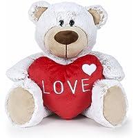 Famosa Oso San Valentin, Color Blanco, 37 cm (760016118)