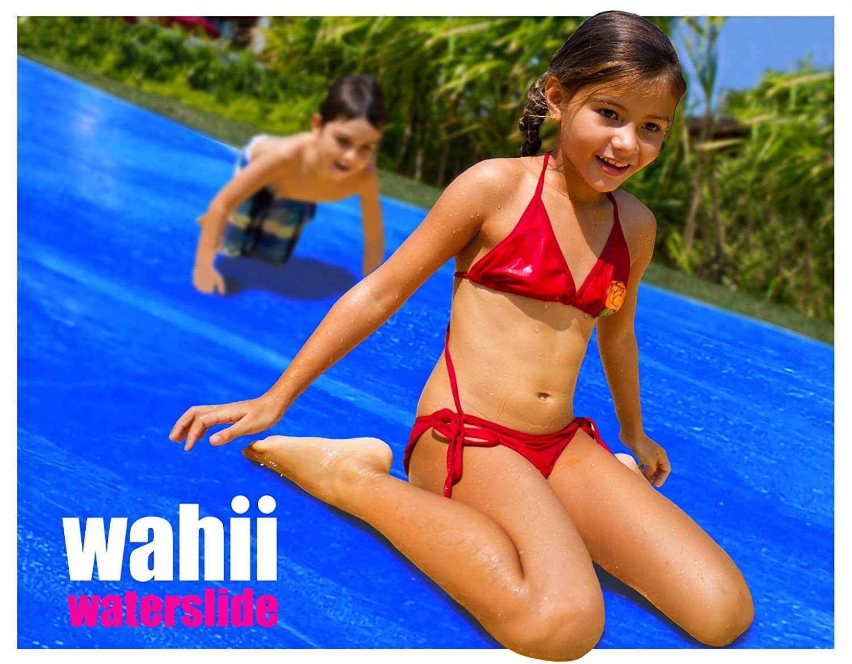 amazon com wahii waterslide 50 world u0027s biggest backyard lawn
