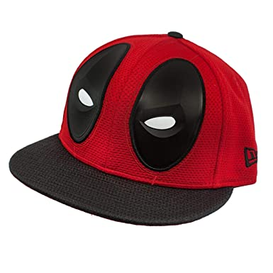 New Era Deadpool Character Armor 59Fifty Fitted Hat (7 Fitted)