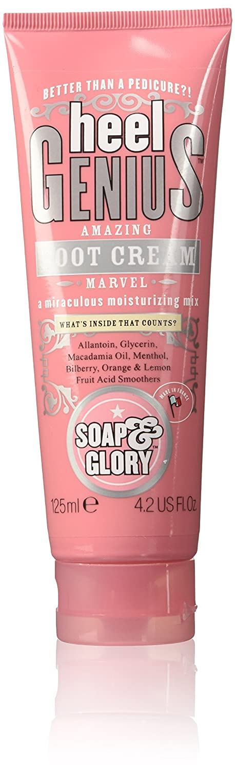 Soap & Glory Heel Genius Amazing Foot Cream 4.2 oz (125 ml)