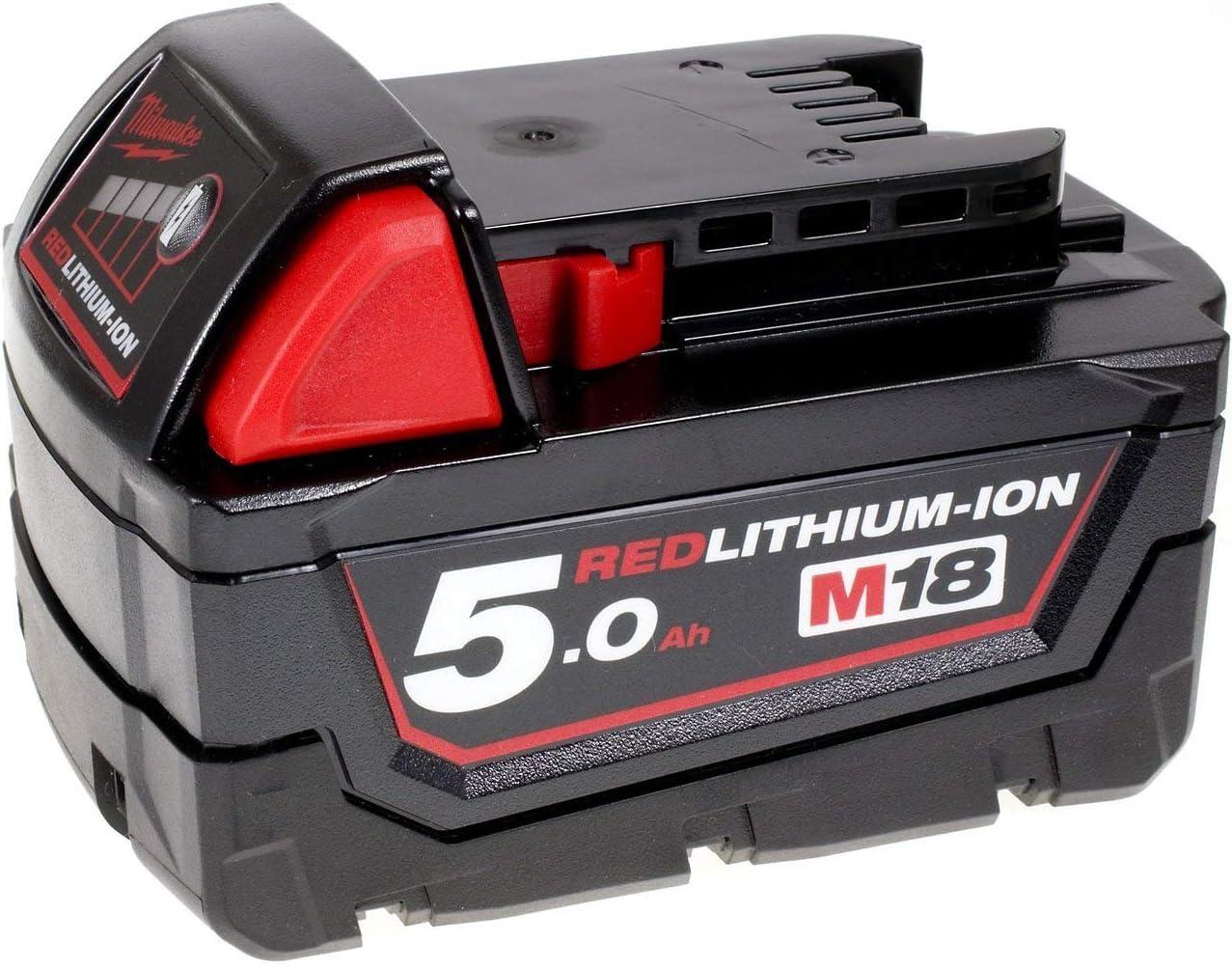 Powery Batería para Amoladora Angular Milwaukee M18 CAG125X Original