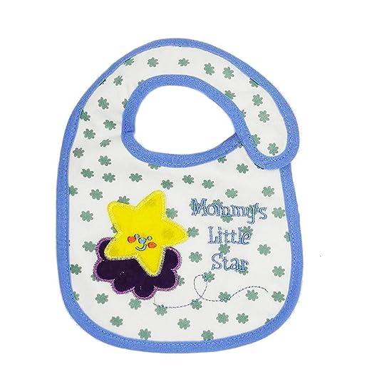 Amazon.com: Chitop Baby Bibs Bandana 100% Cotton Babadores Burp ...