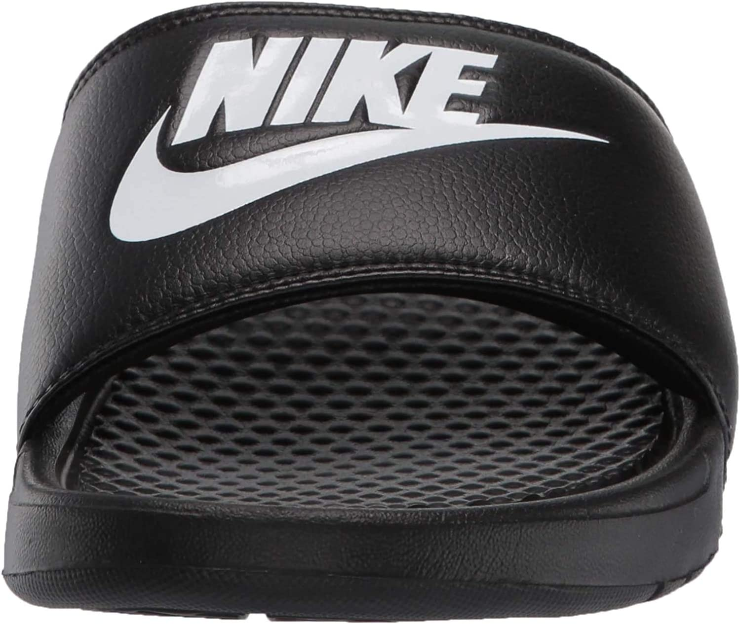 - Benassi Just Do It, Zapatos de Playa y Piscina Hombre, Negro (Black/White 090), 42.5 EU