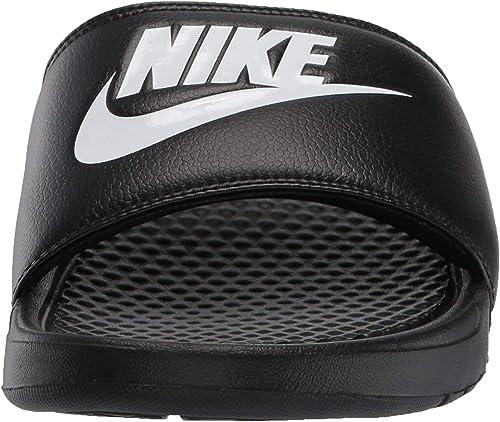 Nike Benassi Jdi, Chanclas Unisex Adulto, Negro (Black/White), 42.5 EU
