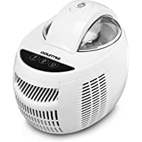 Gourmia Automatic Ice Cream Maker Frozen Yogurt & Sorbet Maker with Digital Timer, Easy Pour Spout, Pints, with Free Gourmet Recipe Book Included