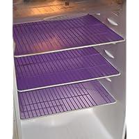Yellow Weaves PVC Refrigerator Mats