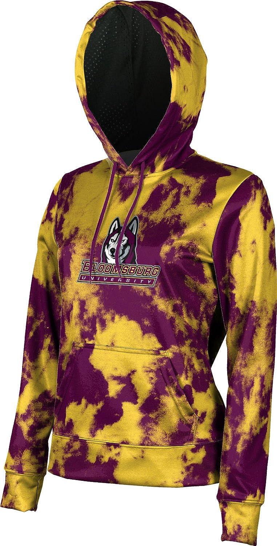 School Spirit Sweatshirt Grunge ProSphere Bloomsburg University Girls Pullover Hoodie