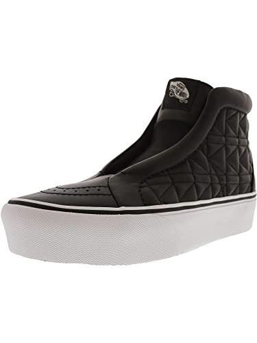 0de667ad24 Vans Sk8-Hi Laceless Platform Karl Lagerfeld High-Top Leather Fashion  Sneaker