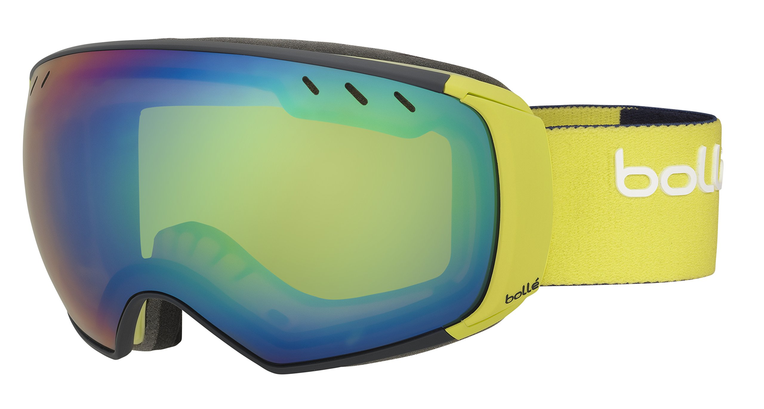BOLLE Men`s Virtuose Goggle, 21624MTBLULM/GRNEM