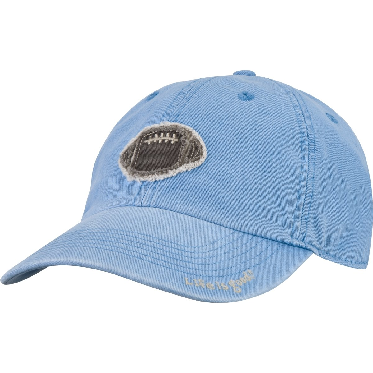 e8377686e8c Life Is Good Boys Tattered Football Chill Cap (Bold Blue