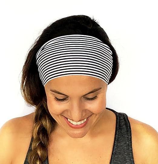 Vovotrade Ladies Sports Yoga Sweatband Gym Stretch Headband Hair Band Yoga  Woman Sports Accessories (23x10cm f481671467f
