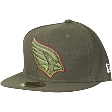 huge discount 7f91c 81164 New Era Arizona Cardinals Olive 2017 Salute to Service Low Profile 59FIFTY  Fitted Hat