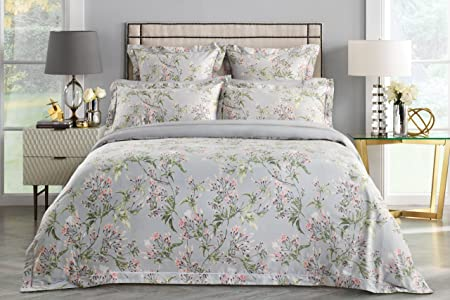 a2ae34065ba9 Image Unavailable. Image not available for. Colour: Sheridan Lineham Dove  Tailored Double Quilt Cover Set ...