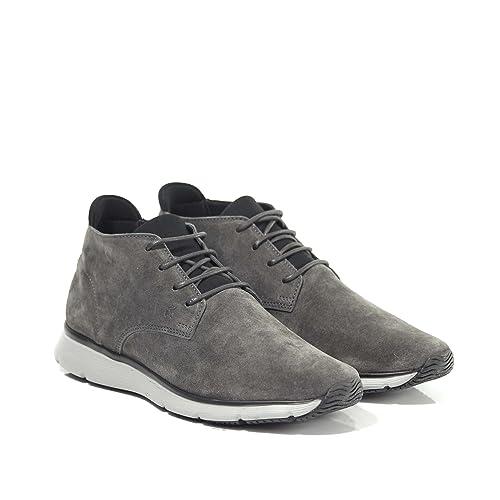HOGAN Sneaker in Camoscio Polacchino UomoTraditional 20.15 New Urban Mod  HXM2540Y820HK1175J Grigio 6 3616f4d3c93