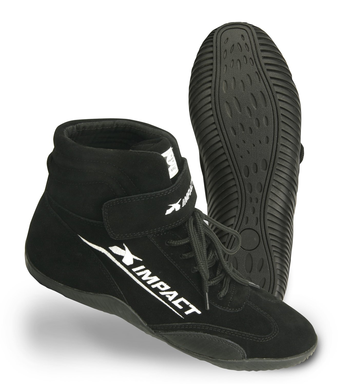 Impact Racing Mens Shoe (Axis SFI 3.3/5) (Black ,8.5) , 1 Pack