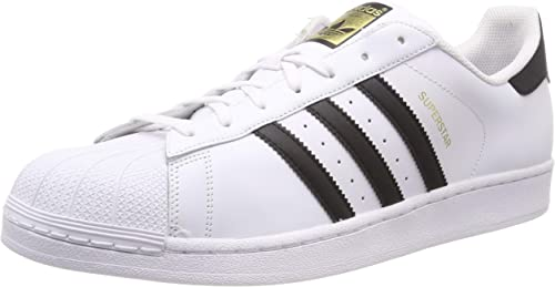 Adidas Superstar Ii Chaussures de Fitness pour Homme White Ftwr White Core Black Ftwr White, 44 EU