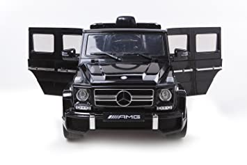 2015 new design kids ride on 12v twin motors mercedes g63 amg suv rechargable electric car
