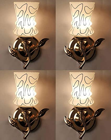 ad6491764c26f9 ZSQUAREHP Wallchire Wall lamp Double Combo Offer  Amazon.in  Home   Kitchen