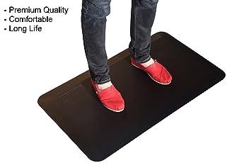 Uncaged Ergonomics Thick Premium Anti Fatigue Cushion/Comfort Floor Mat For  Standing Desk,
