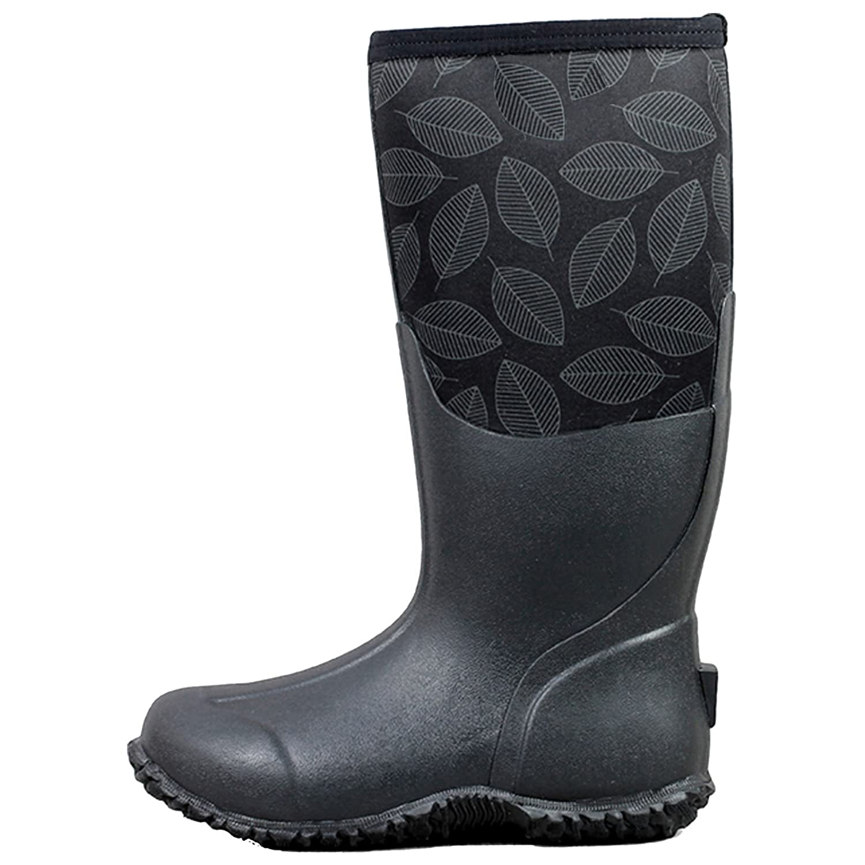 Bogs damen Carver Carver damen Tall Leafy Rubber Stiefel 3f3001