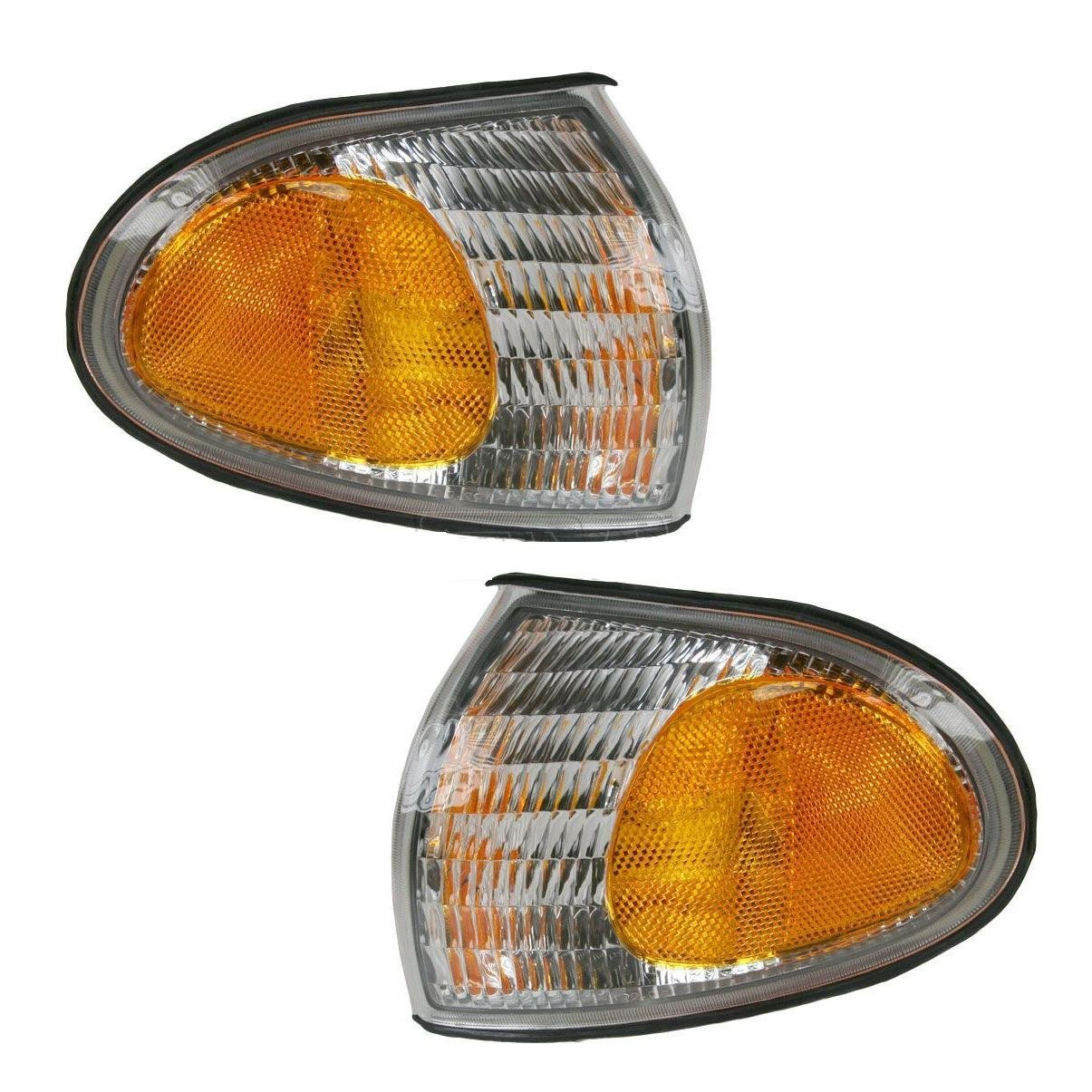Holiday Rambler Vacationer 1996-2000 RV Motorhome Pair (Left & Right) Replacement Front Corner Park Lights Lighting 4 U