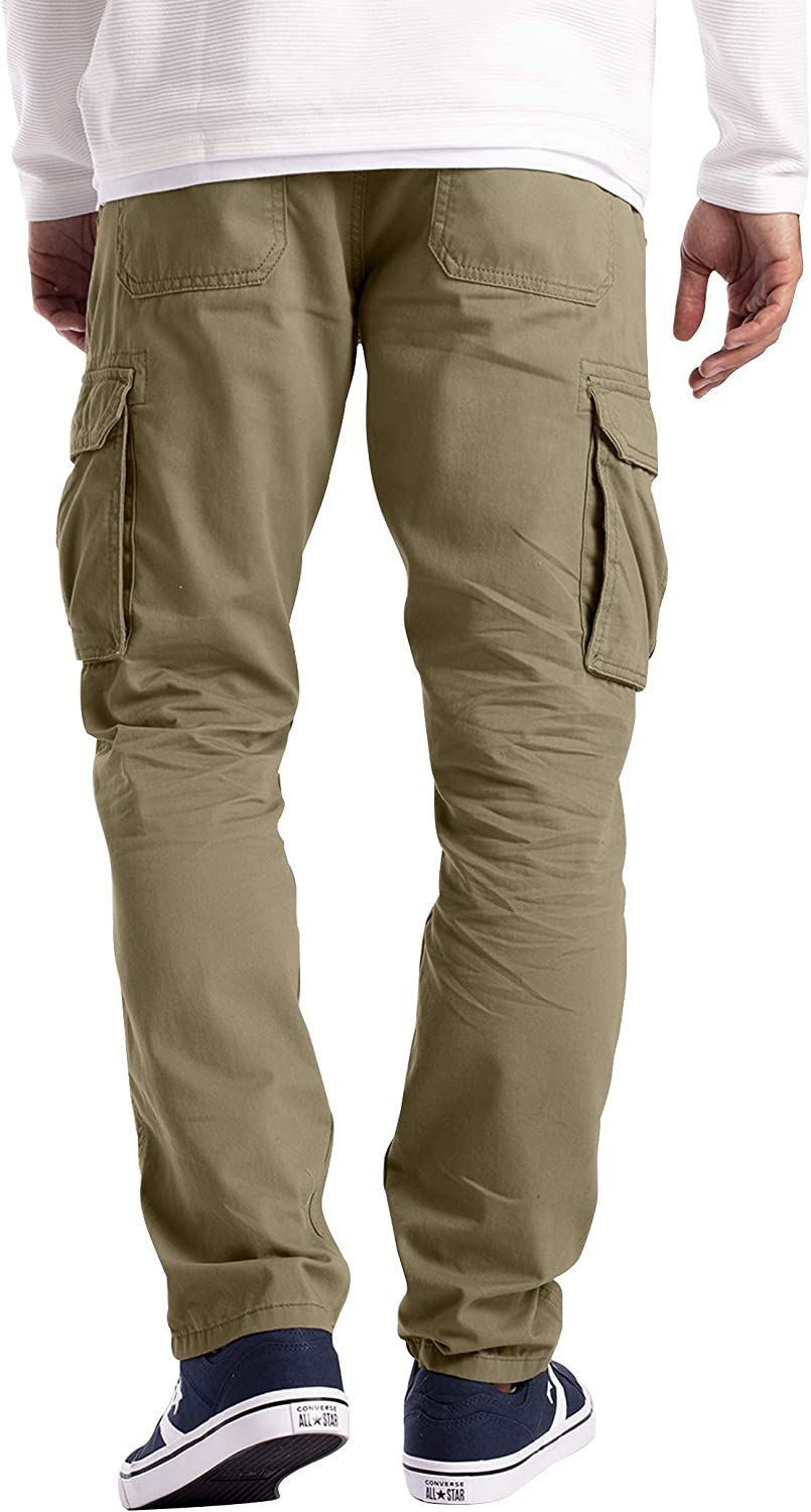 westAce Mens Cargo Trousers Work Wear Combat Safety Cargo 6 Pocket Full Pants