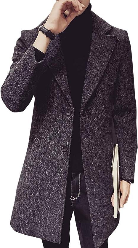 コート メンズ ロング ジャケット カジュアル チェスター 無地 暖かい 防寒 ロング丈 アウター