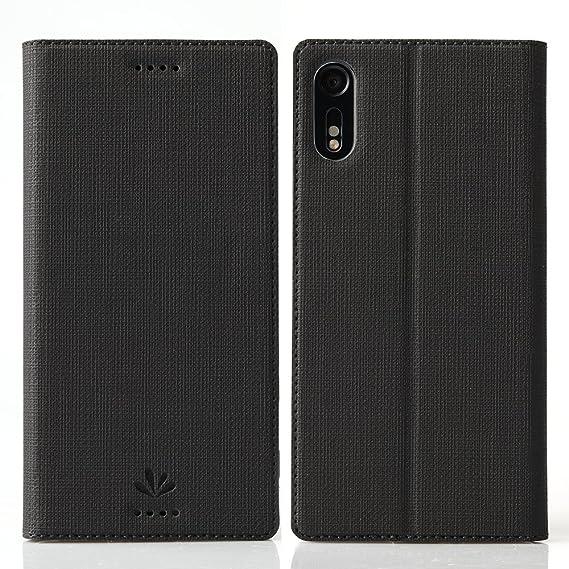 competitive price 2f44b 24811 Sony Xperia XZ Flip case ,Feitenn Premium Leather PU Flip Wallet case Smart  Case Stand Kickstand Card Holder Magnetic Closure Clear TPU bumper full ...