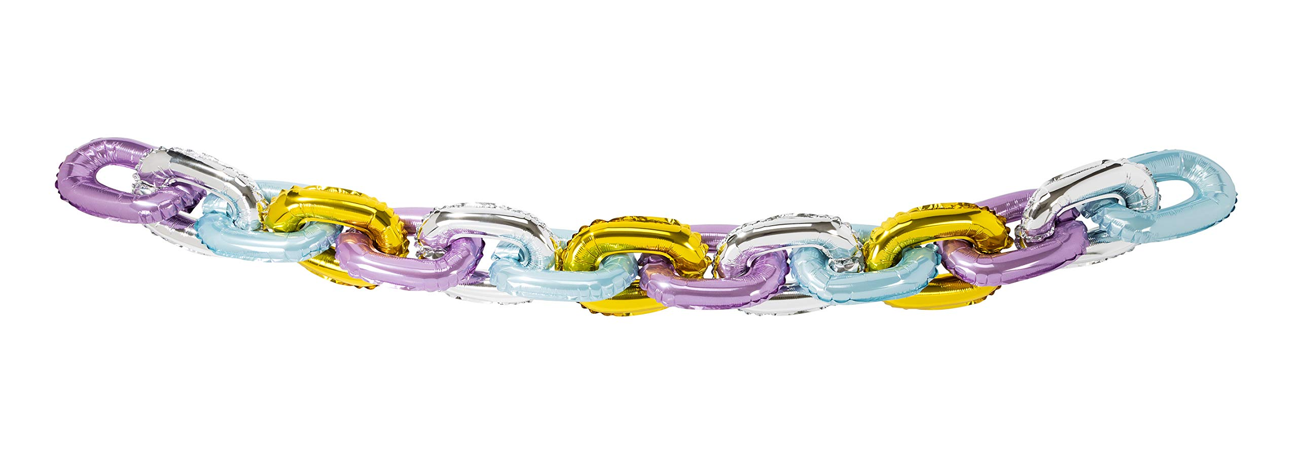 Talking Tables LINKBALL We ♥ Pastels Chain Garland, Multicolor