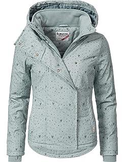 Sublevel Damen Winterjacke Outdoorjacke 46550D 20 Farben XS-XL 022250a12e