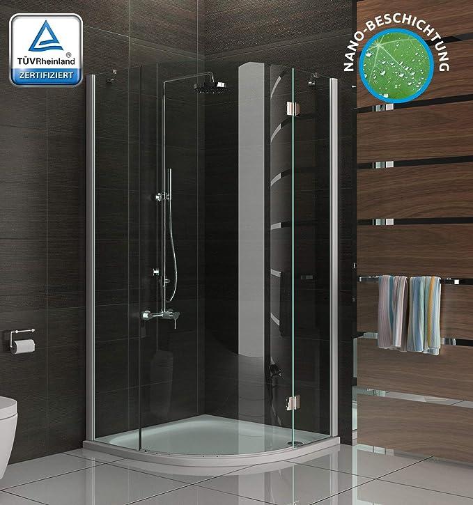 Moderno y atemporal de cabina de ducha de vidrio cabinas de ducha con mampara antical 3078193010 métrica 90 x 90 x 195: Amazon.es: Bricolaje y herramientas