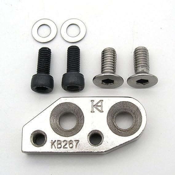 KUNPENG - 1 conjunto # KB-267 soporte adaptador adecuado ajuste para Durkopp Adler 267, 268, 269, Consew 206RB5, otros: Amazon.es: Hogar
