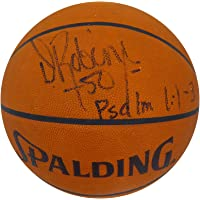 $307 » Signed David Robinson Ball - Official Spalding Leather Beckett BAS #H44558 - Beckett Authentication - Autographed Basketballs