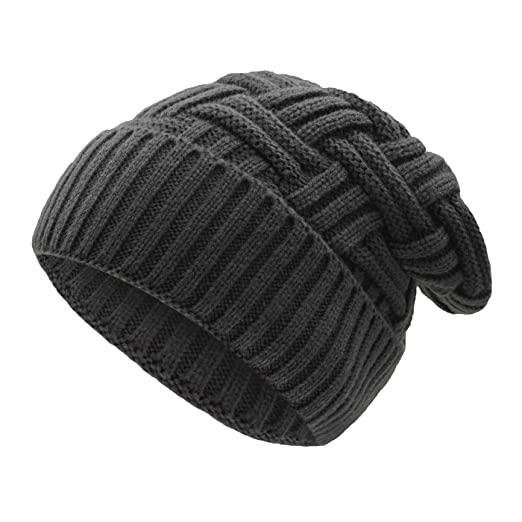 cd554f577e9 Image Unavailable. Image not available for. Color  UPhitnis Winter Beanie  Hat for Men Women ...