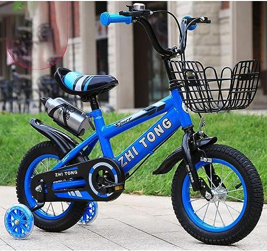 FJW Bicicleta para niños Estructura de Acero al Carbono y Soporte ...