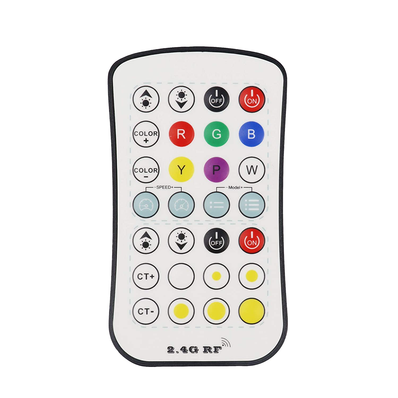 LEDENET 2.4G CCT LED Remote Controller Dimmer Color Temperature for Single Color CCT LED Strip//LED Ribbon//LED Tape