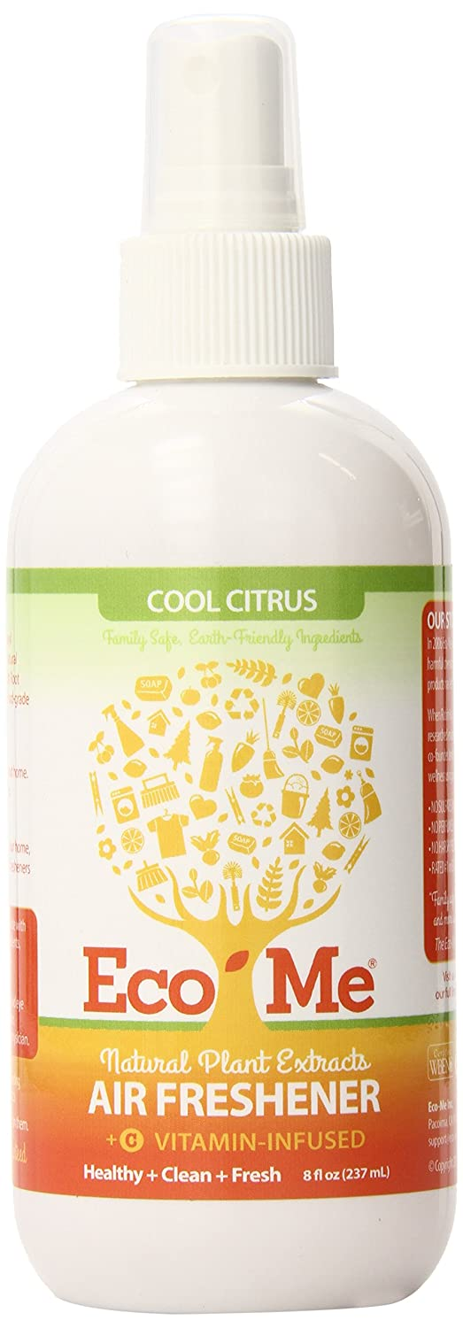 Eco-Me Natural Air Freshener, Vitamin-Infused Cool Citrus Scent, 8 Ounce ECOM-AFC108-06