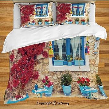 Juego de funda nórdica para ropa de cama Coastal Decor, decoración ...