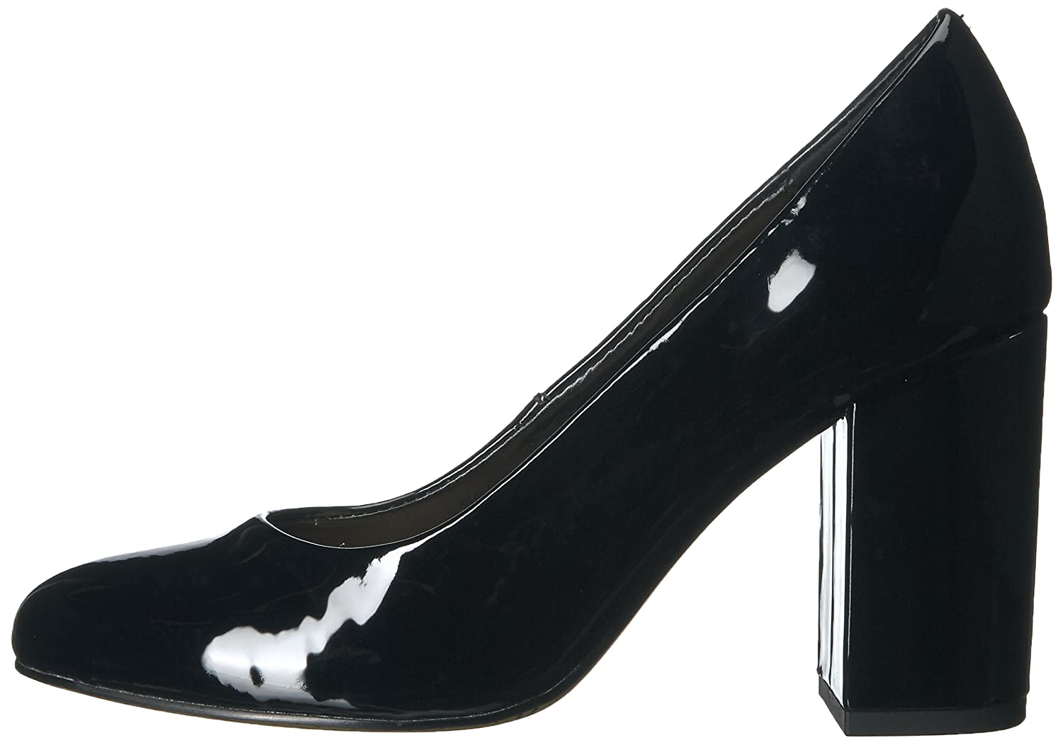 Bella Vita Women's Nara Ii Dress Pump B01NBNOG2P 7 W US|Black Patent