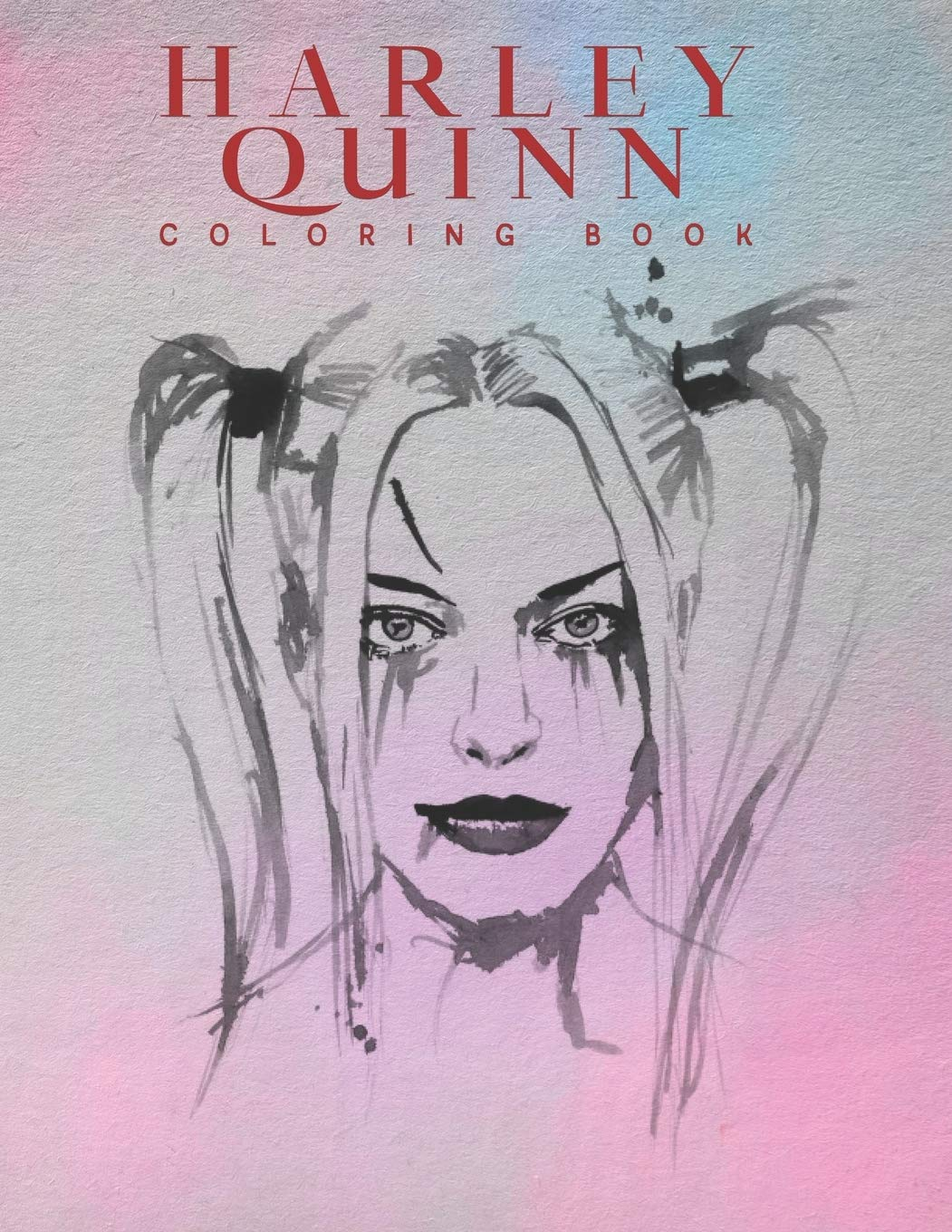 - Amazon.com: Harley Quinn Coloring Book: Harley Quinn Coloring Book For  Adults, Activity Book, Great Starter Book With Fun, Easy, And Relaxing  Coloring Pages - 50 Pages - 8.5