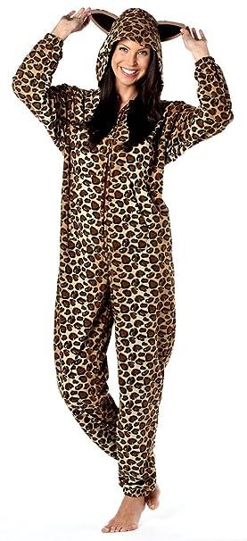 Octave - Mujer estampado gato animal mono/pijama/jumpsuit [talla 20/22