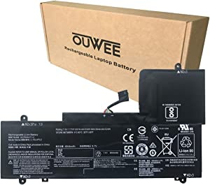 OUWEE L15L4PC2 Laptop Battery Compatible with Lenovo Ideapad Yoga 710-14IKB 710-14ISK 710-15IKB 710-15ISK Series Notebook L15M4PC2 5B10K90778 5B10K90802 7.6V 53Wh 6974mAh 4cell