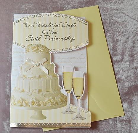 Auguri Matrimonio Civile : Biglietto di auguri per matrimonio civile in lingua inglese