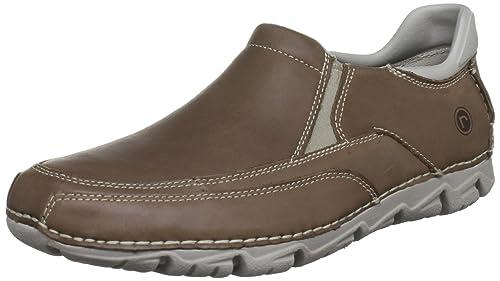 Rockport Rocsports Lite - Mocasines de cuero para hombre: Amazon.es: Zapatos y complementos