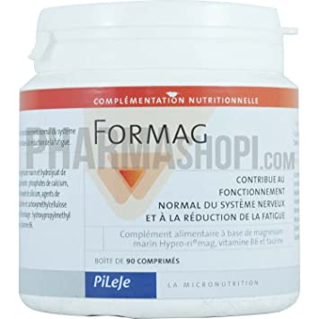 Pileje Formag Marine Magnesium Tablets with Bitamin B6 - 90 Tablets